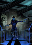 X-9: Iron steps