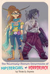 Hipstergirl and Horrorjack by MaslenJopson007916