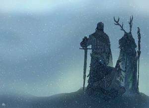 Three at Winter