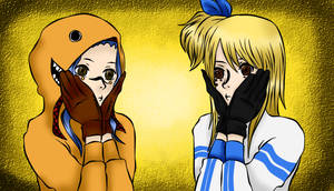 Fairy Tail - Levy and Lucy