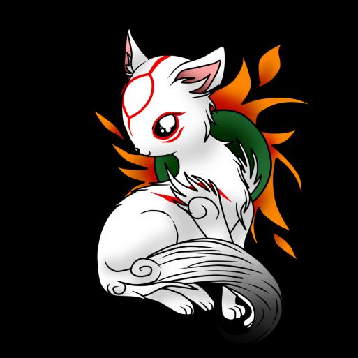 Okami - Chibi Amaterasu by NekoRikaChan on DeviantArt