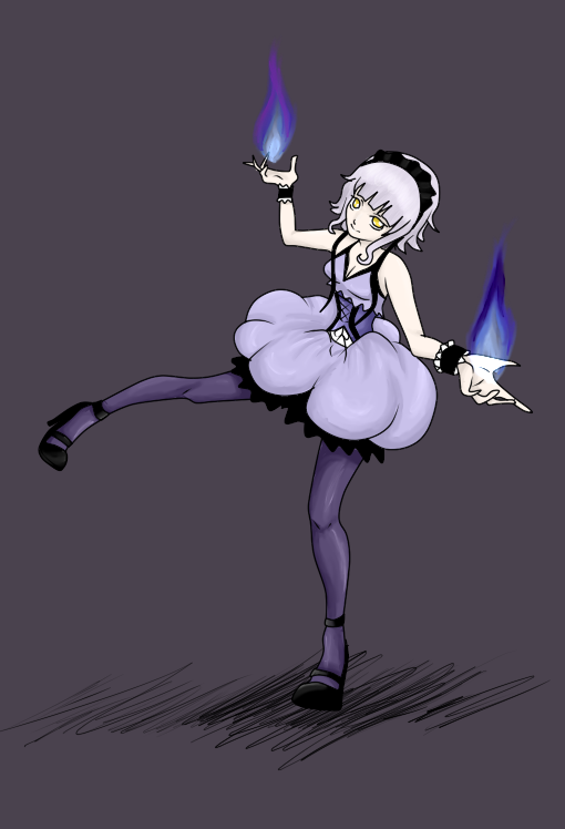 Pkmn - Chandelure Gijinka by NekoRikaChan on DeviantArt