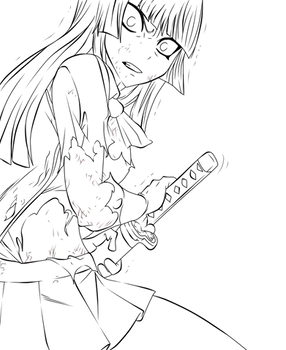 FT 314: Kagura Lineart