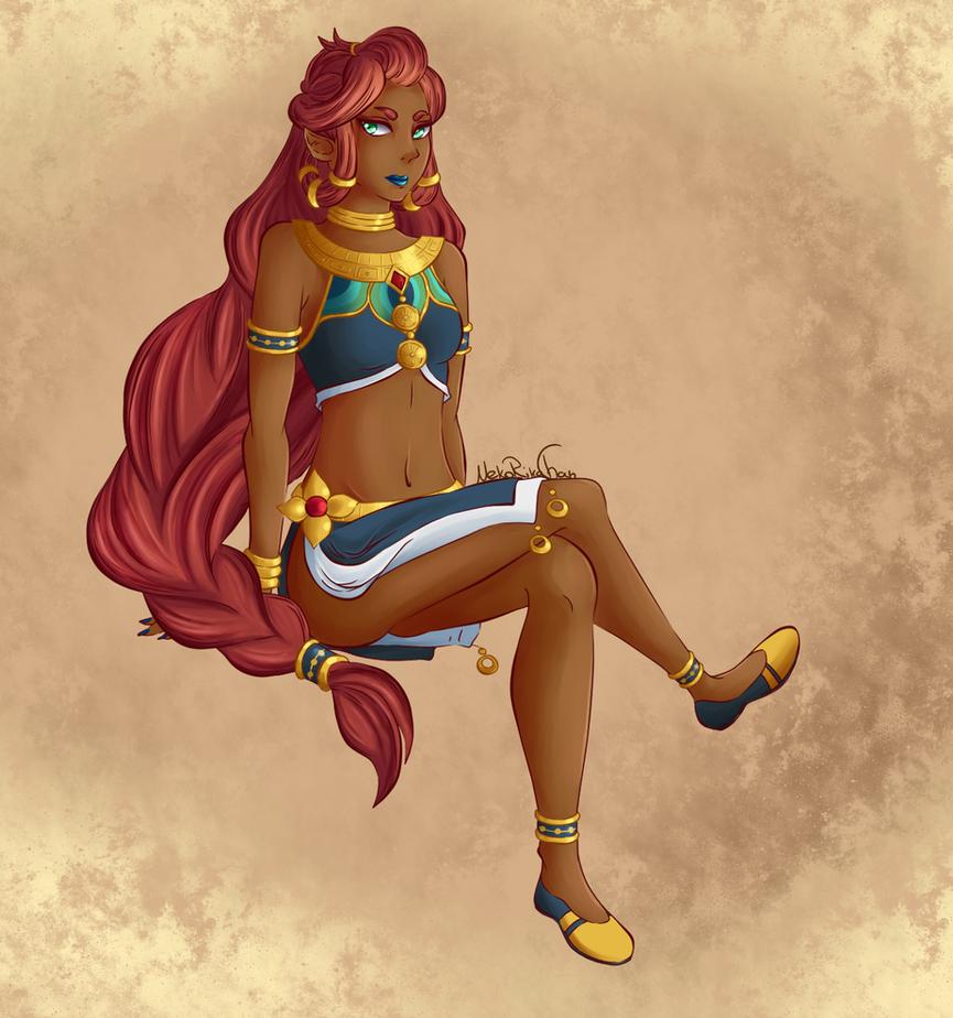 Gerudo Princess by NekoRikaChan