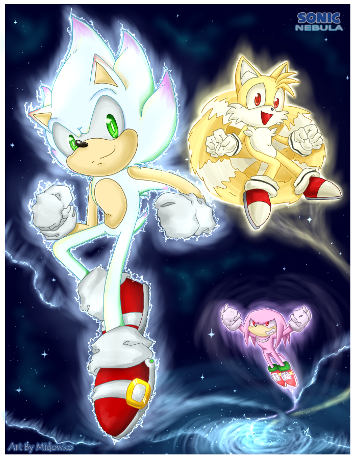 Sonic Nebula Hyper sonic returns by Midowko on DeviantArt