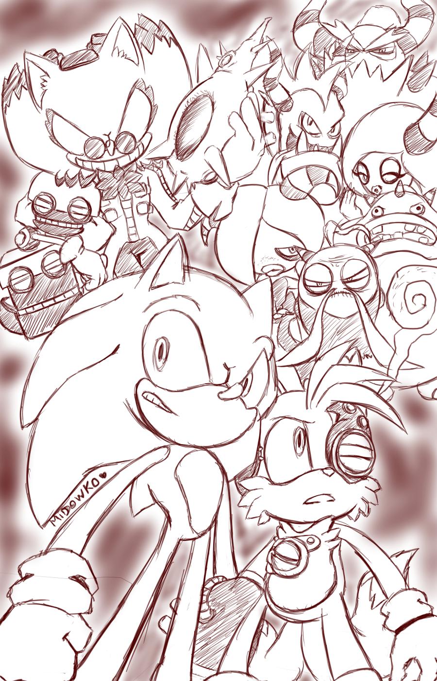 Sonic lost world by Midowko on DeviantArt