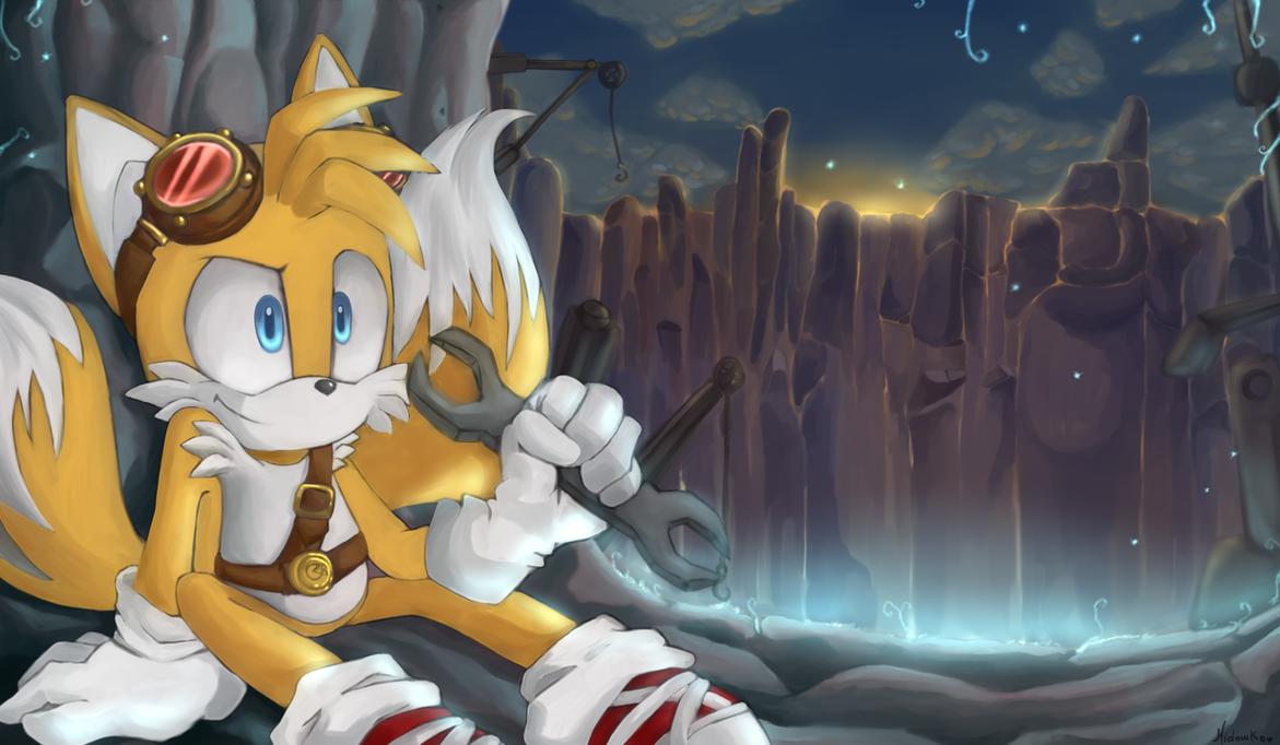 Sonic Boom Tails by Midowko