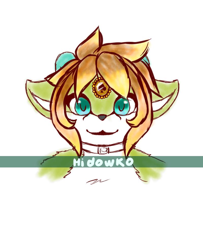 Mido the gato ciervo by Midowko