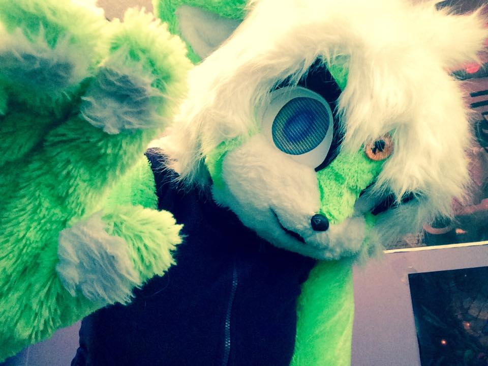 My fursuit mido by Midowko