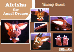 Fursuit Commission Aleisha the Angel dragon by Midowko