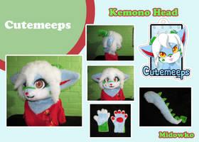 Commission: Cutemeeps by Midowko