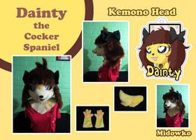 Commission: Dainty the Cocker Spaniel by Midowko