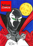 Spawn Sketch Card by TalisonComics