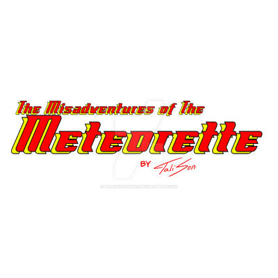 Meteorette Title Card