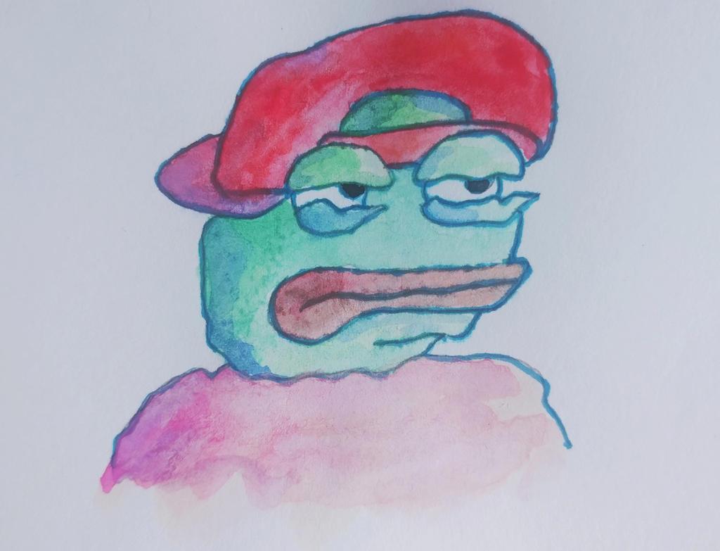 Super rare Pepe by pushka