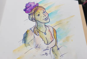 Watercolour - Friend of friend