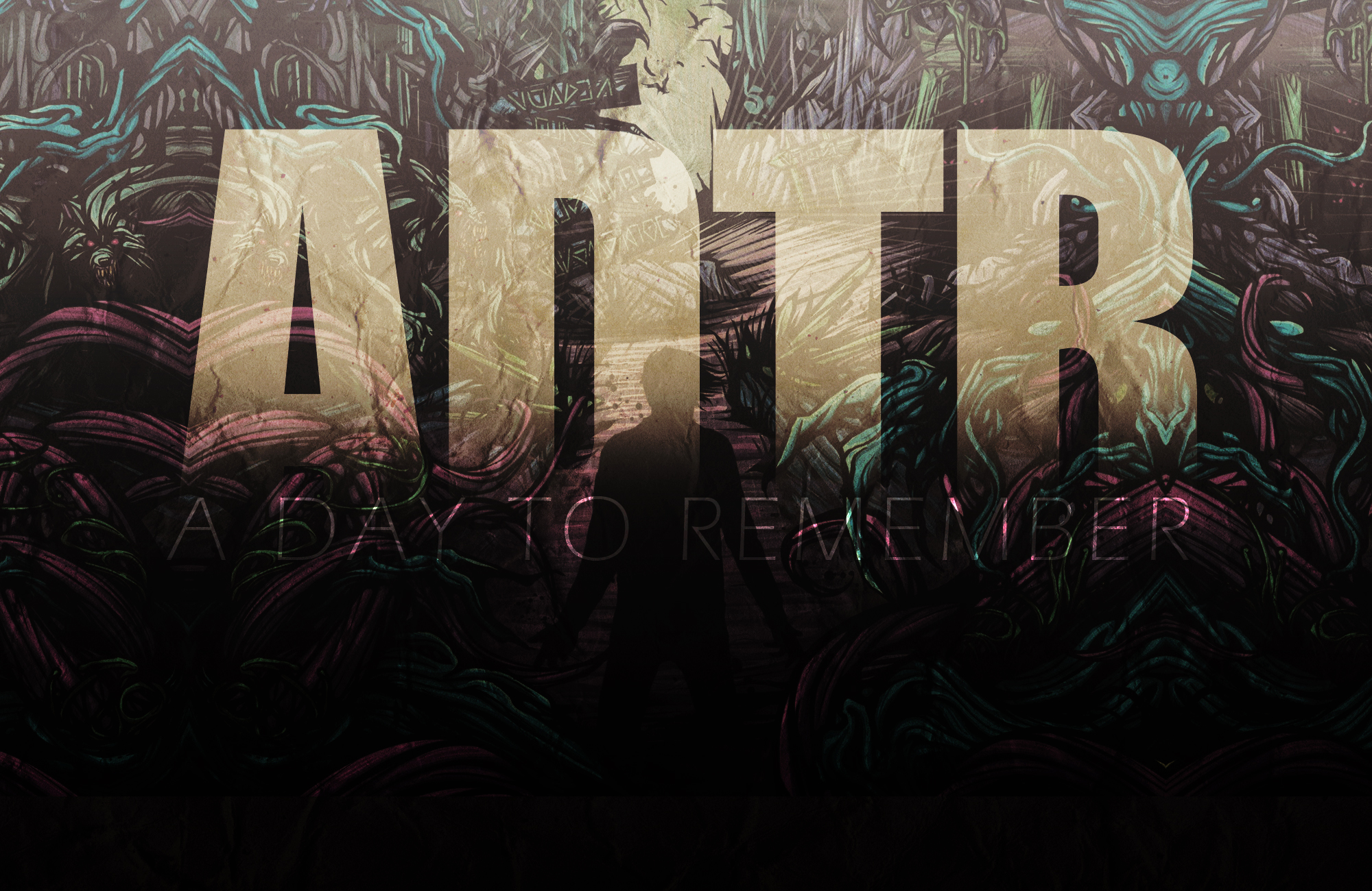 """Anyone have this wallpaper without the """"A Day To Remember ... A Day To Remember Homesick Wallpaper"""