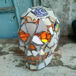 Sea pottery unique skull