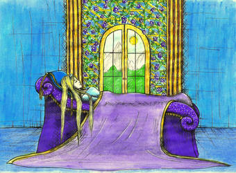 Sleep beauty by ReDragoNatalia