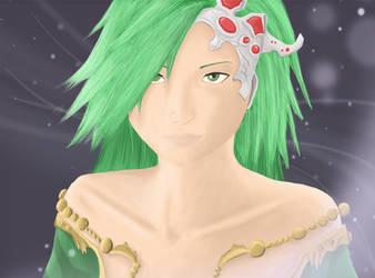 Rydia - Final Fantasy IV by Pymeg