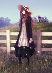 Ina (OC) by Redapple999