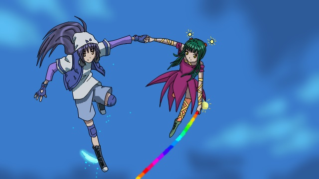 Akane and Nagihiko by MayuBeCrazy-Suzume
