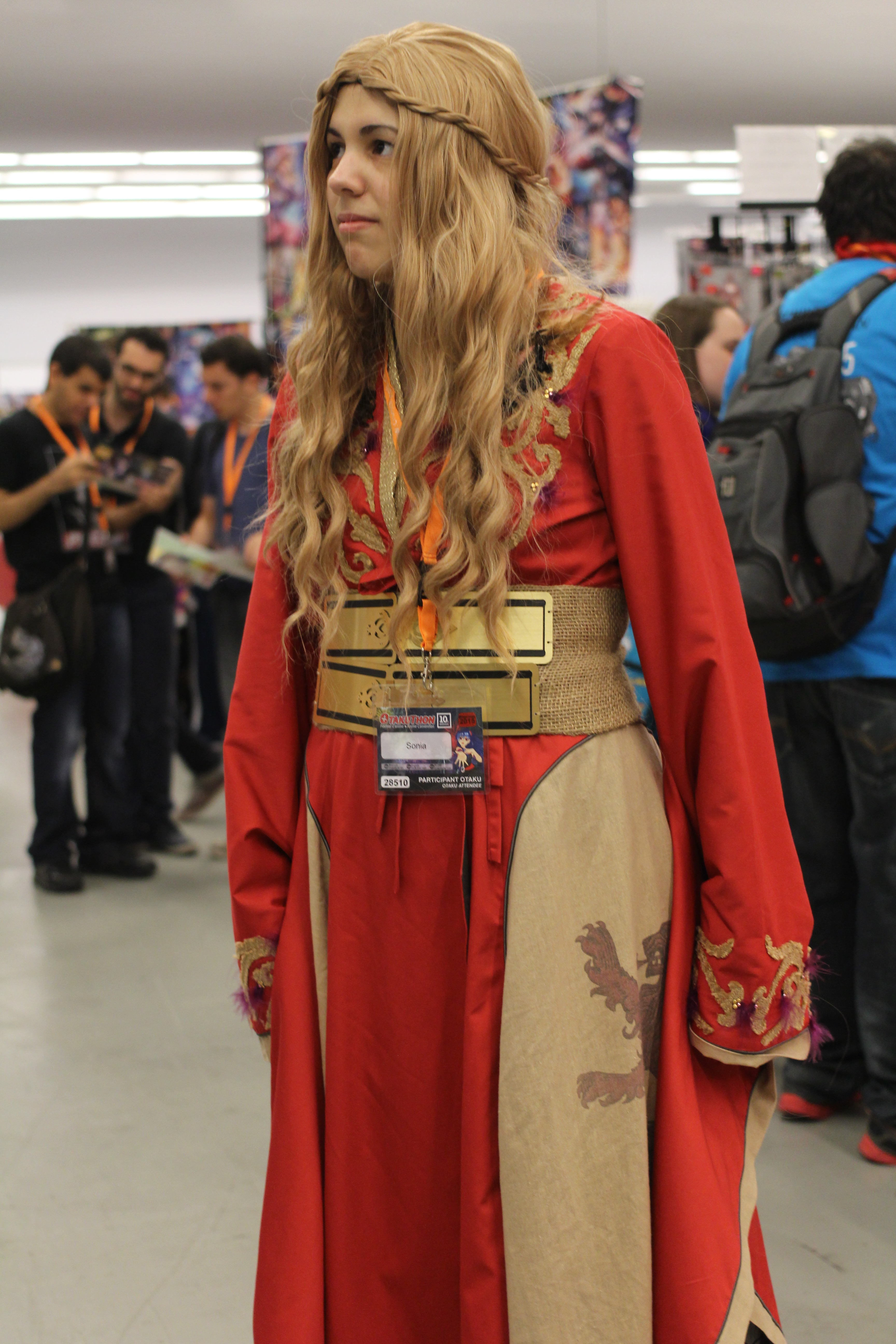 Connu Cersei Lannister Cosplay at Otakuthon 2015 2 by  YI88