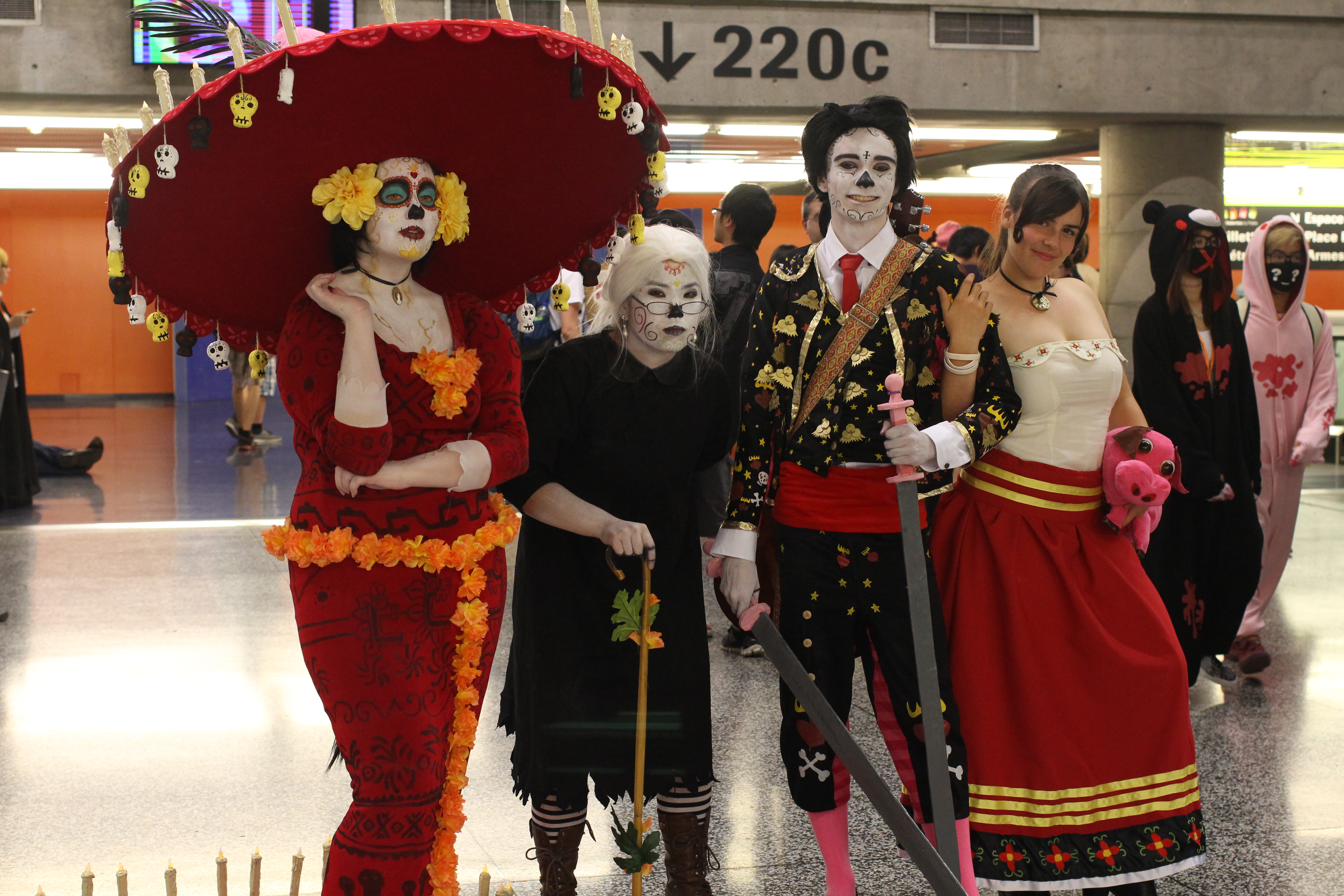 Book of Life group at Otakuthon 2015 by MaripierPhotographie