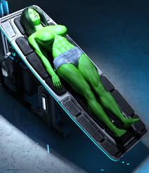 She Hulk - Olga 1002 by shulkophile