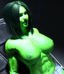 She Hulk - Olga 1003 by shulkophile
