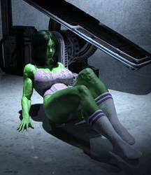 She Hulk - Olga 2001 by shulkophile