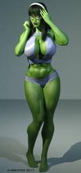 She Hulk - Pru 1002 by shulkophile