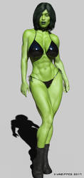 She Hulk - Jody 1001 by shulkophile