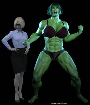 She Hulk - Nicole 2001 2