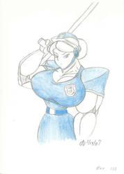 010. - Blue by ArchangelDreadnought