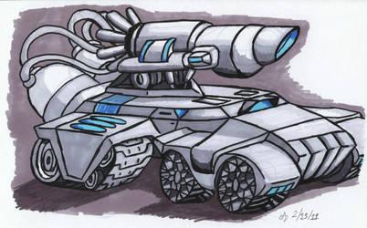 Plasma Tank by ArchangelDreadnought