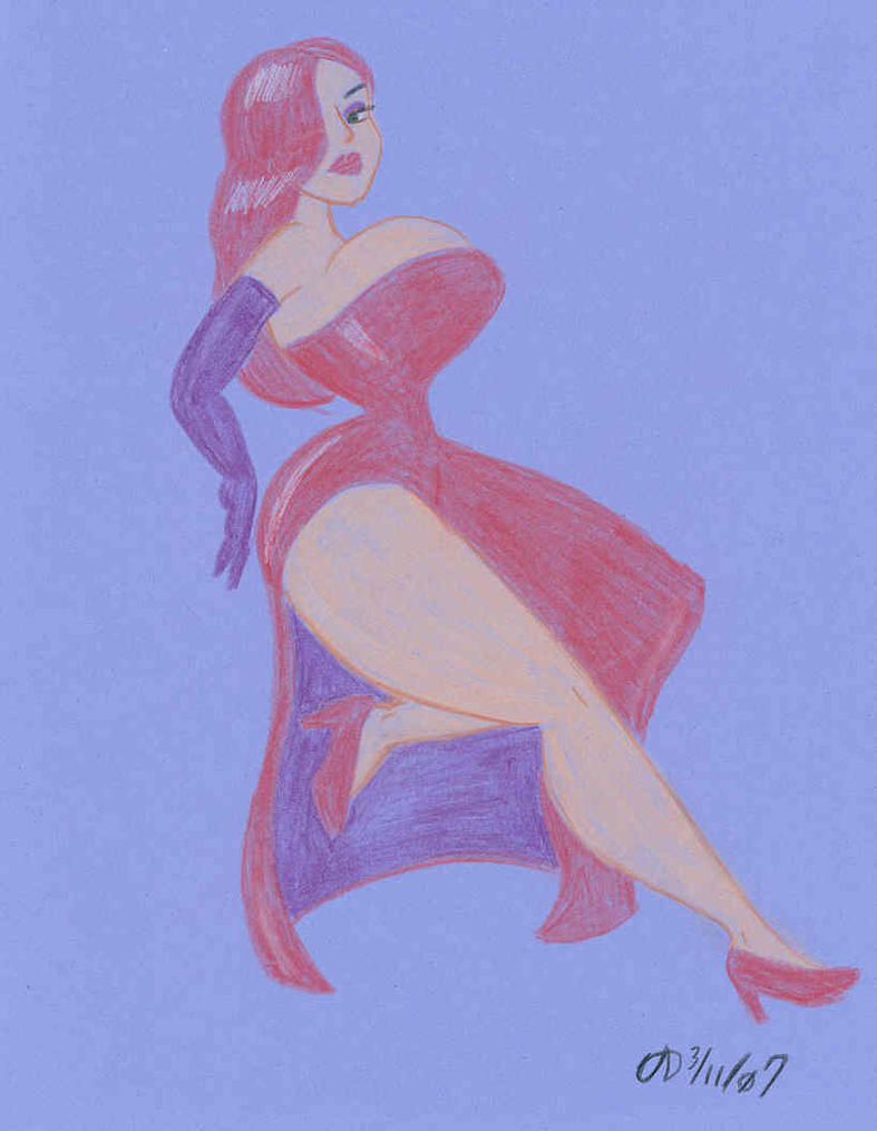 Jessica Rabbit by ArchangelDreadnought