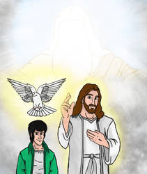 God the Father Jesus Christ and the Holy Spirit