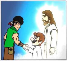 Lord Jesus bring Mario in Heaven