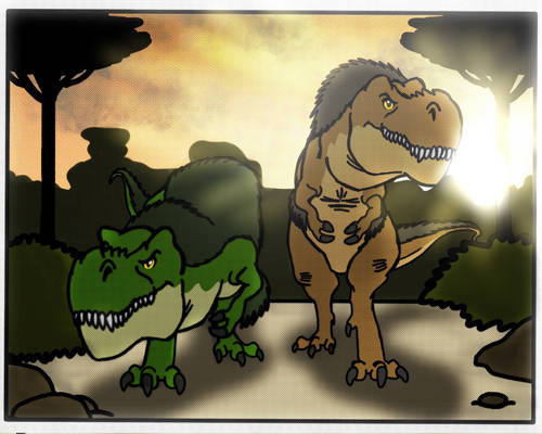 Tyrannosaurus Rex from 65 Million Years Ago
