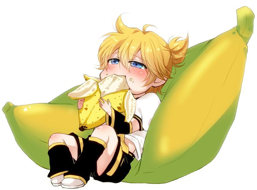 Len Kagamine Banana Len Kagamine Banana Render
