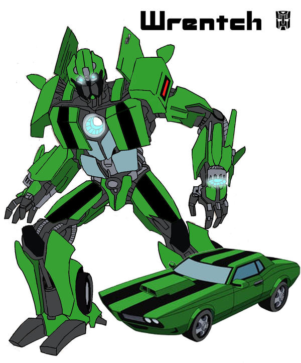 Ben 10 Kevin Car Images: Wrench The Autobot Plumber By Okhams-Razor On DeviantArt
