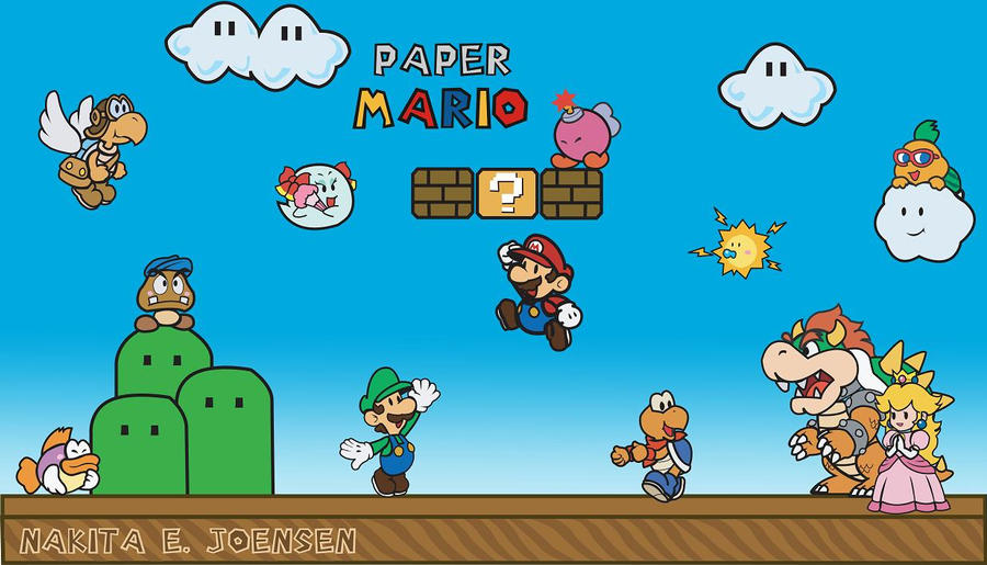 Paper Mario by zkita