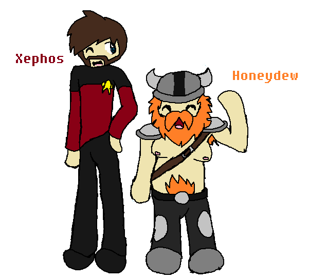 Honeydew and xephos wallpaper