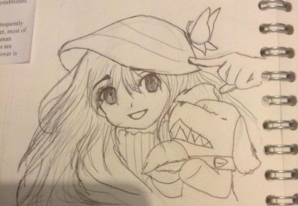 Kobato sketch by angel-light123