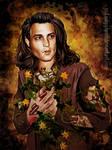 Johnny Depp/Skeleton