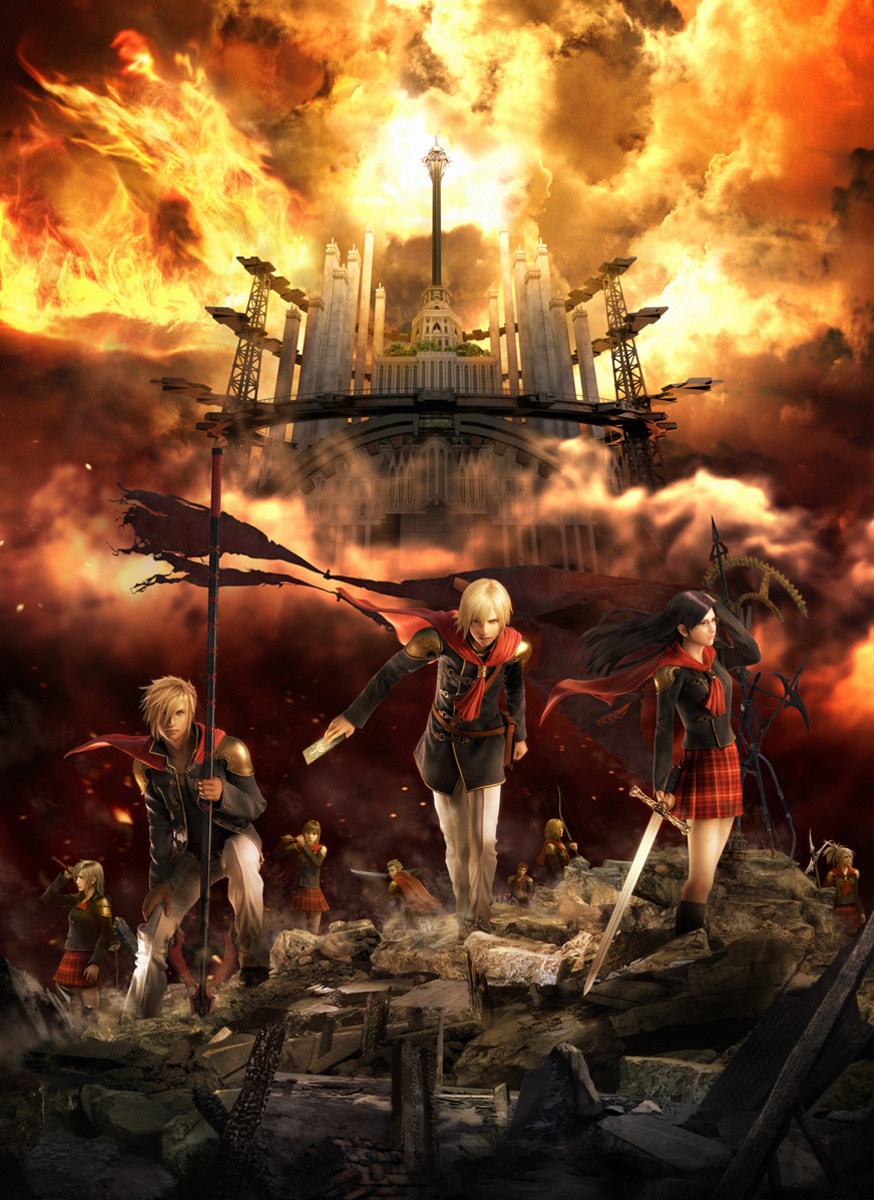 Unduh 60 Wallpaper Final Fantasy Type O Gratis