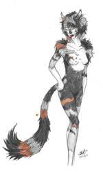 Blackpaw - Verdani -- Zorah by Msterope