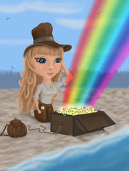 I found the treasure of the rainbow !
