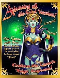 Venusian Recruitment Poster by Duncecap-Dan